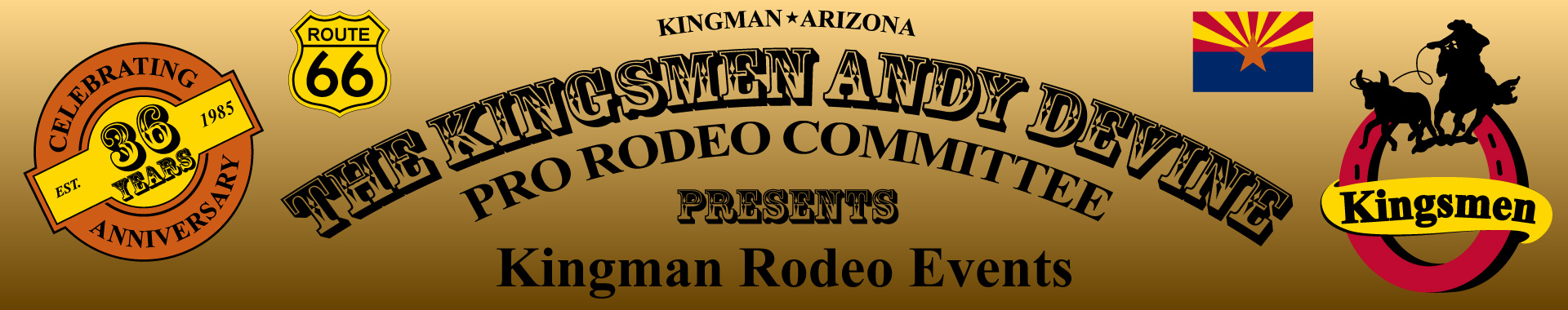 Kingman Rodeo Banner