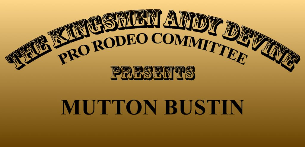 PRCA Mutton Bustin Event