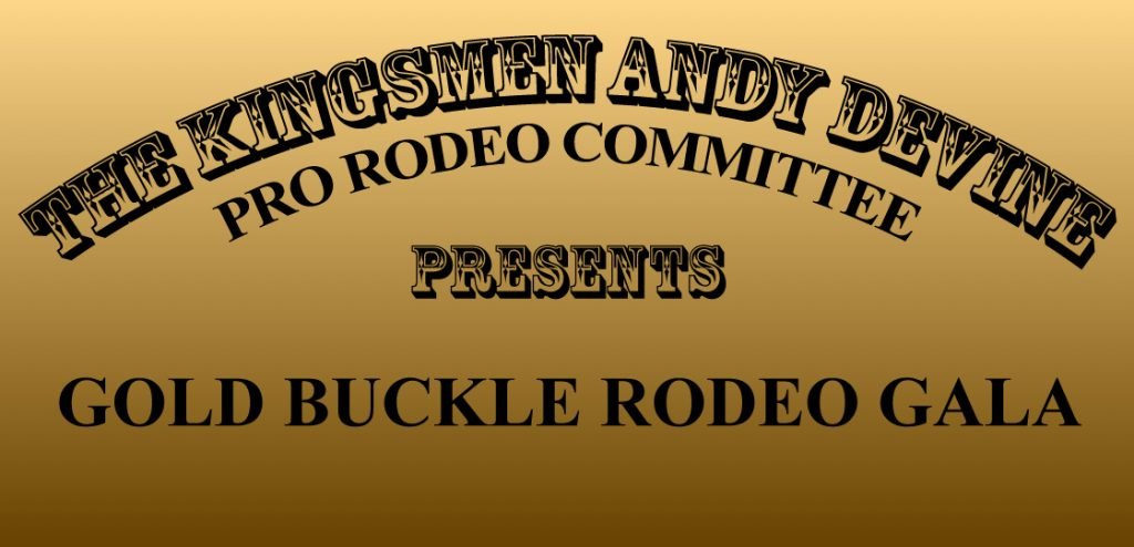 Gold Buckle Rodeo Gala