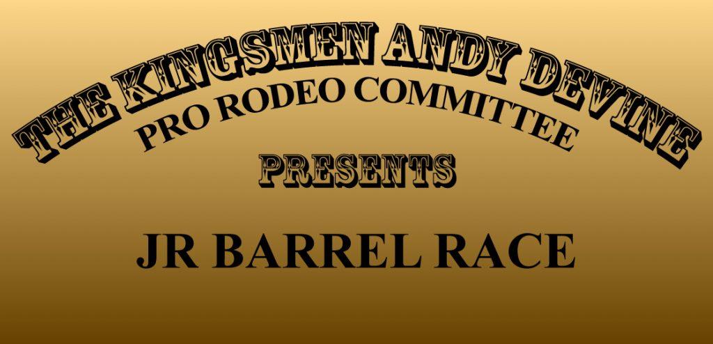 Jr Barrel Race